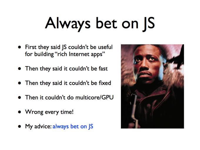 State of JavaScript 2012