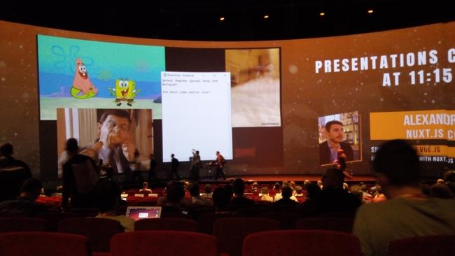 Conférence Vue.js Amsterdam 2018